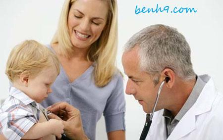 Triệu chứng của bệnh Viêm phổi ở trẻ em